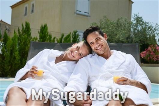 Einen Sugardaddy im Alltag begleiten