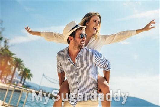 Der Sugardaddy genießt seinen Badeurlaub am liebsten mit seinem Sugarbabe.